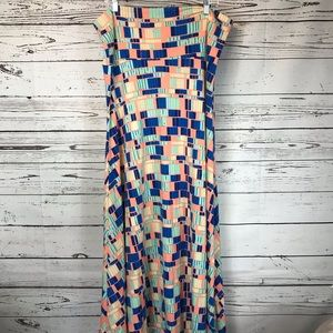 LulaRoe Maxi Skirt XXL EUC Dress